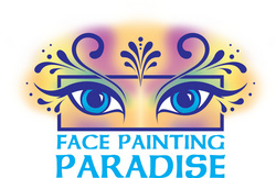 face painting paradise, face painting by athena, face painter, face painter in utah, face painting in utah, faces kids entertainers, parties, makeup artist