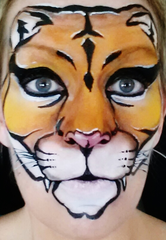 animal designs face painting paradise in salt lake city utah